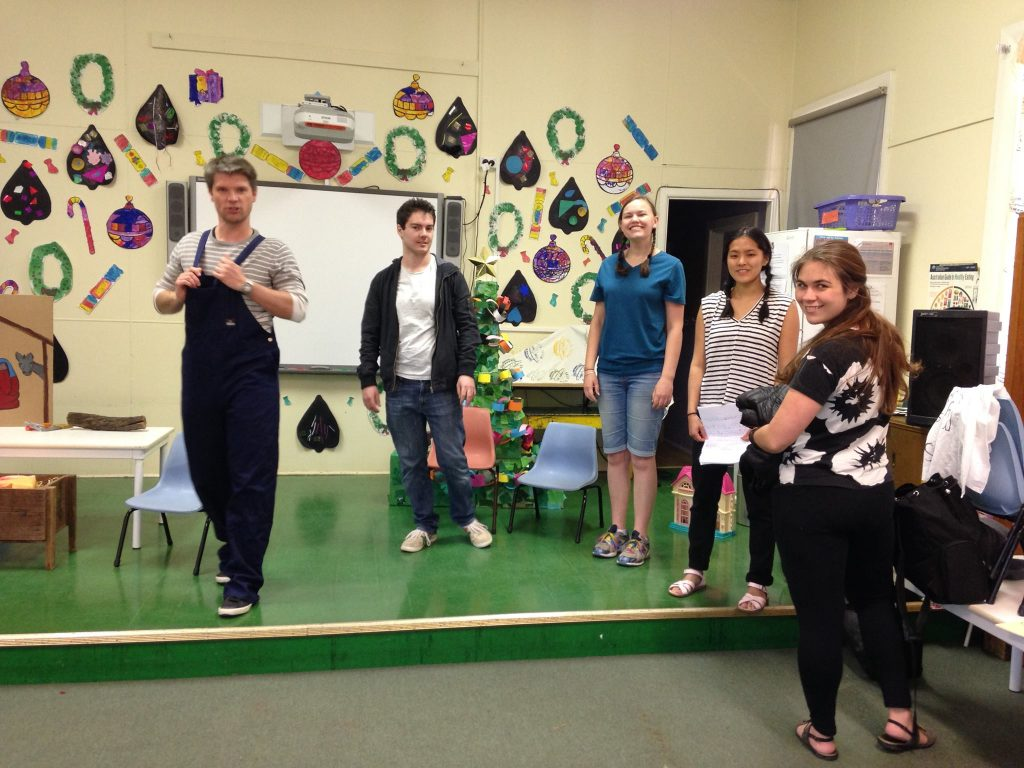 Christmas assembly at Quandialla School